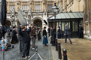 Filming Suffragette at the Houses of Parliament. ©UK Parliament / Steffan Hill
