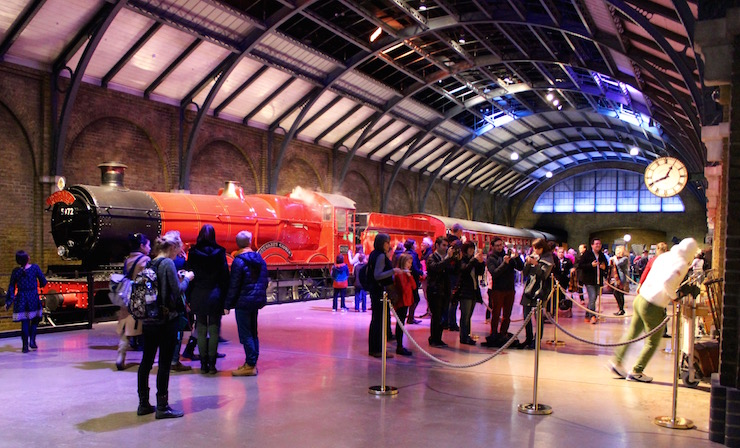 Hogwarts Express, Warner Bros Studio Tour. Copyright Gretta Schifano