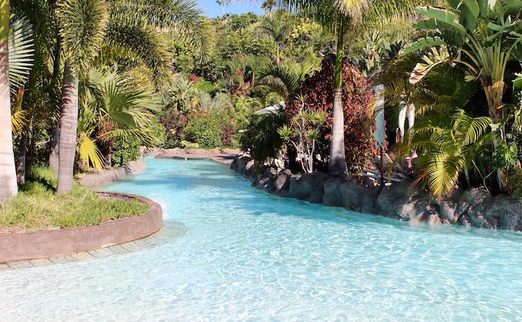 Lazy river, Siam Park, Tenerife. Copyright Gretta Schifano