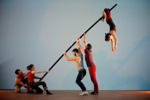London International Mime Festival artists: Ockham's Razor - Tipping Point 2 Image © Nik Mackey