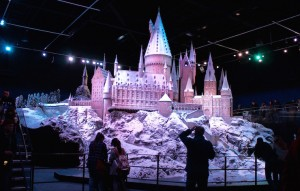 Scale model of Hogwarts Castle. Copyright Gretta Schifano