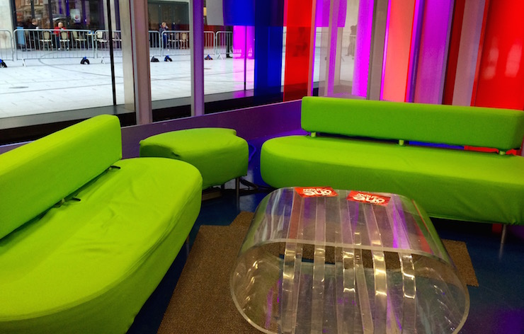 The One Show Studio, BBC Broadcasting House. Copyright Gretta Schifano