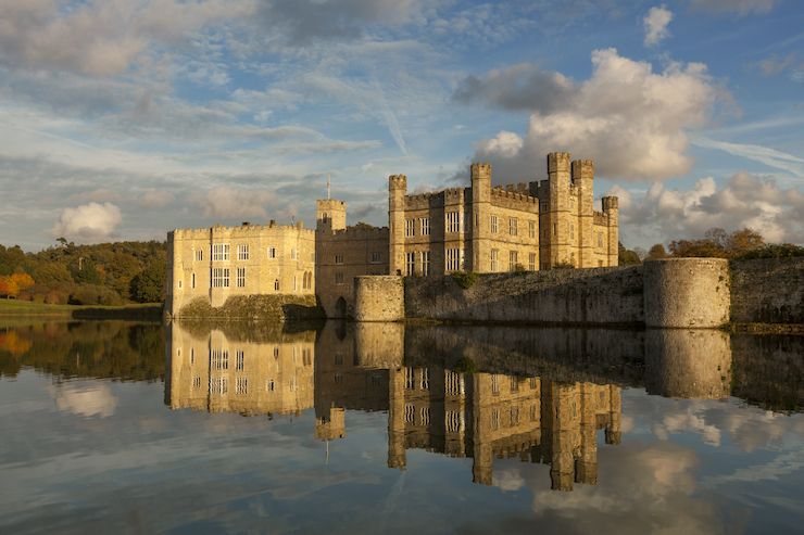 Leeds Castle, Kent. Image courtesy of Leeds Castle