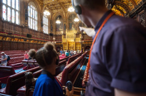 Lords Chamber, Houses of Parliament. Image courtesy of UK Parliament