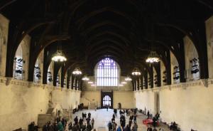Westminster Hall. Copyright Gretta Schifano