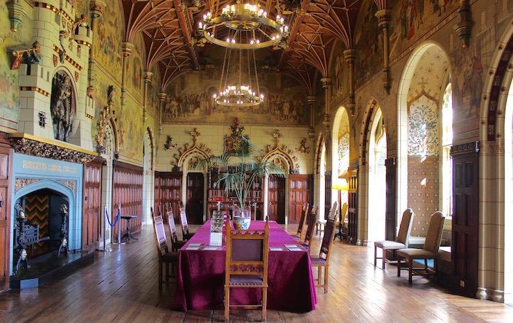 Banqueting hall, Cardiff castle. Copyright Gretta Schifano