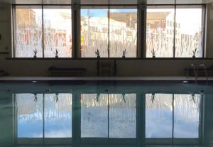 Cardiff Marriott pool. Copyright Gretta Schifano