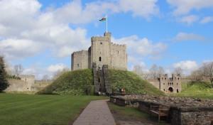 Cardiff castle. Copyright Gretta Schifano
