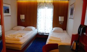 Stena Line Comfort Class cabin. Copyright Gretta Schifano
