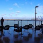 Stena Line ferry sun deck. Copyright Gretta Schifano