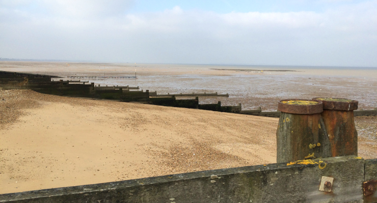 Beach, Whitstable. Copyright Gretta Schifano
