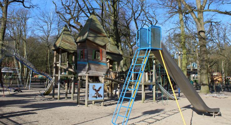 Playground, Duinrell. Copyright Gretta Schifano