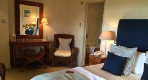 Garden room, Star Castle Hotel. Copyright Gretta Schifano