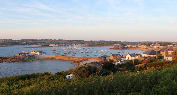 Quay, St. Mary's, Isles of Scilly. Copyright Gretta Schifano