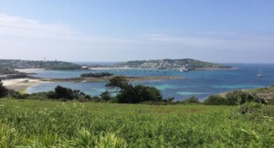 View of St. Mary's, Isles of Scilly. Copyright Gretta Schifano