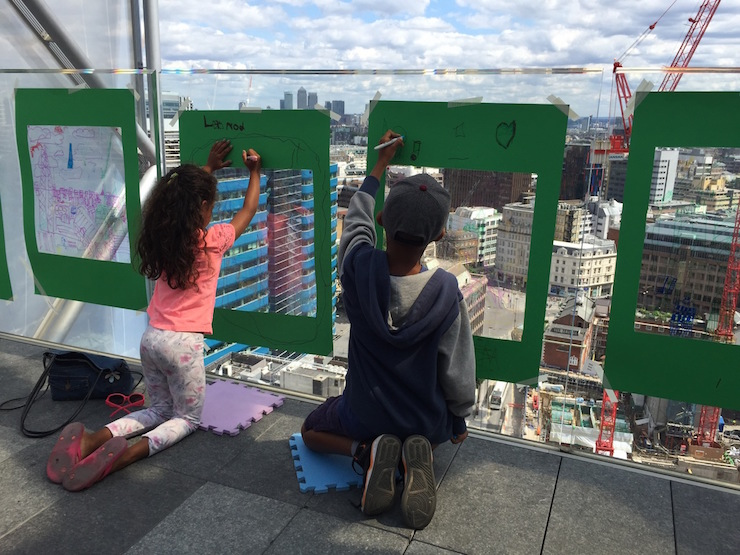Archikids - Sky Scraper Sketching. Image courtesy of Archikids