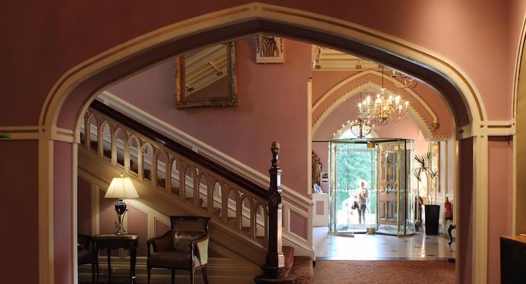 Lobby, Culloden Estate & Spa, Northern Ireland. Copyright Gretta Schifano