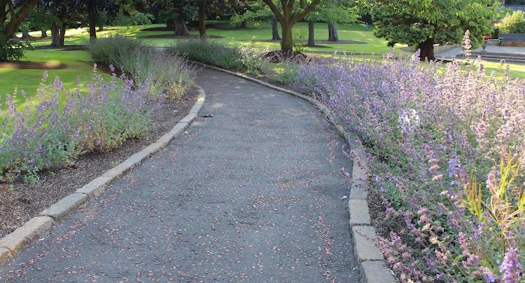 Path, Culloden Estate & Spa, Northern Ireland. Copyright Gretta Schifano