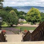 Steps, Culloden Estate & Spa, Northern Ireland. Copyright Gretta Schifano