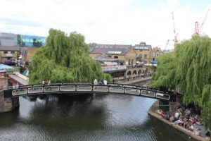 View from Holiday Inn London Camden Lock. Copyright Gretta Schifano