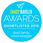 Family Traveller Awards badge