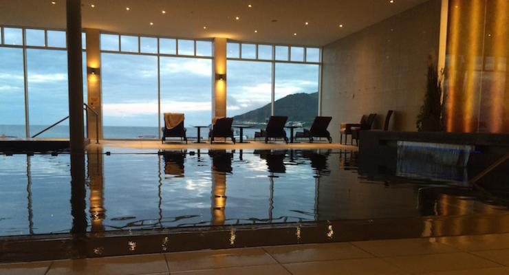 Indoor pool, Slieve Donard Resport & Spa. Copyright Gretta Schifano