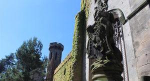 Ruined mansion, Alton Towers. Copyright Gretta Schifano
