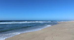Beach, Praia D'el Rey, Portugal. Copyright Gretta Schifano