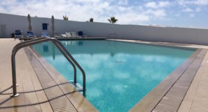 Swimming pool, Praia D'el Rey Resort, Portugal. Copyright Gretta Schifano