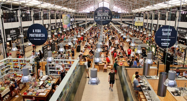 Time Out Market, Lisbon. Copyright Gretta Schifano