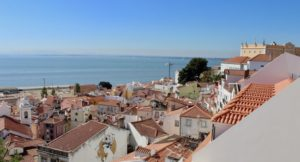 View from the Alfama, Lisbon. Copyright Gretta Schifano
