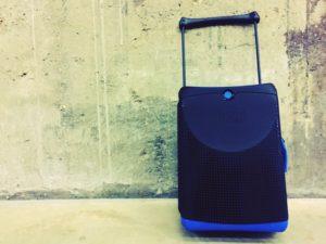 Jurni suitcase. Copyright Lara Downie
