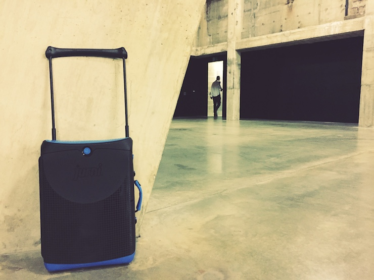 Jurni suitcase, Tate Modern. Copyright Lara Downie