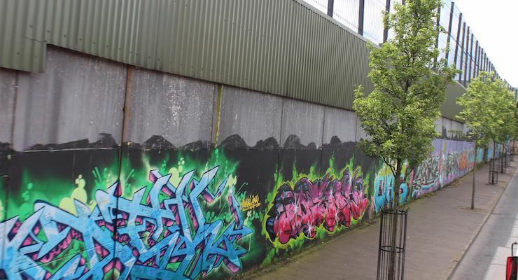 Peace Wall, Belfast. Copyright Gretta Schifano