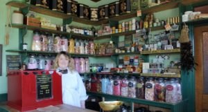 Sweet shop, Ulster Folk Museum. Copyright Gretta Schifano