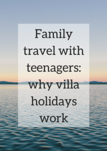 Family travel with teenagers: why villa holidays work image
