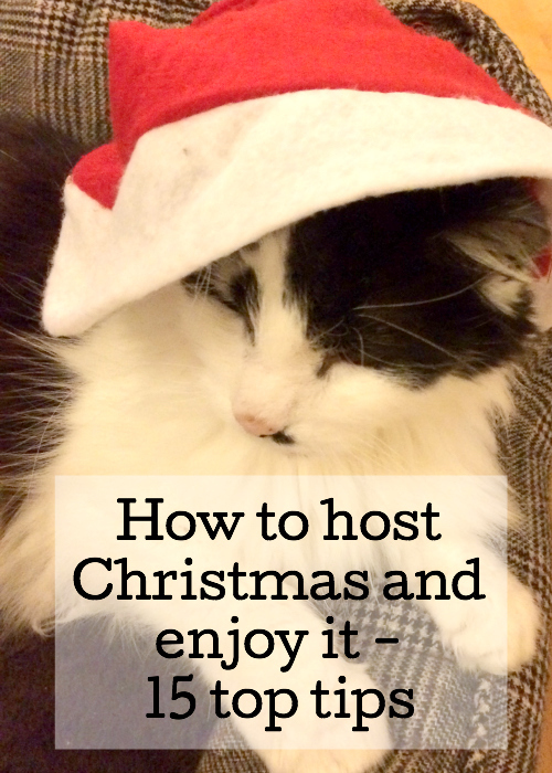 How to host Christmas and enjoy it. Tips from Gretta Schifano mumsdotravel.com