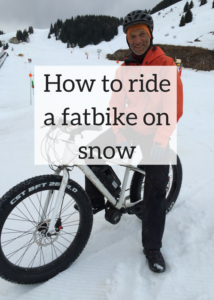Have you ever experienced riding a fat bike on snow? I tried this out in the French Alps and it was a lot of fun, but quite tricky. Here are some tips and advice on how to do it - click through for full article.