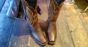 My Justin Boots from Fort Worth. Copyright Gretta Schifano
