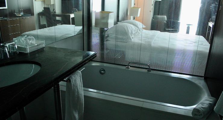 Bedroom, Sheraton Porto Hotel & Spa. Copyright Gretta Schifano