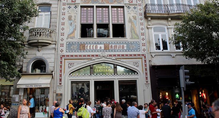 Livraria Lello, Porto. Copyright Gretta Schifano