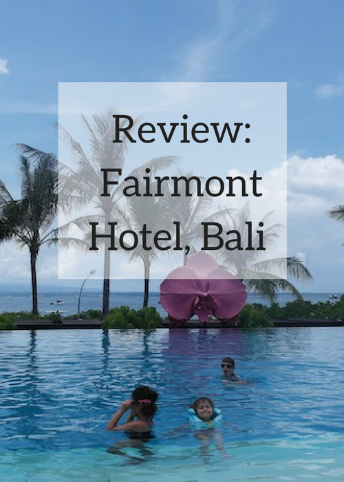 Pinterest image - Fairmont Hotel, Bali