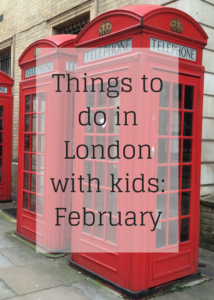 Ideas and inspiration for the best things to do in London on a family day out in February. Ideas for events, activities, exhibitions, festivals and more for children and teenagers. Includes free events. Click through for full details of the top things to do in the capital.