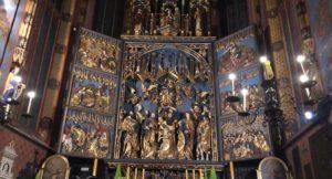 Altar, St. Mary's Church, Kraków. Copyright Gretta Schifano