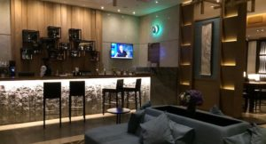 Plaza Premium Lounge, Heathrow airport. Copyright Gretta Schifano