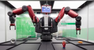 Baxter, a working robot © Plastiques Photography, courtesy of the Science Museum