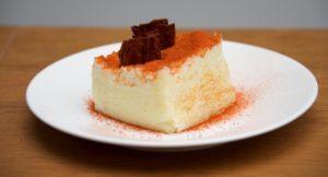 Creamed cod fishcake, copyright Jo Mackay