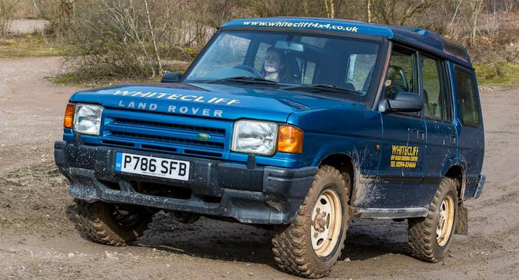 Gretta Schifano, Whitecliff Off-Road Driving Centre, Forest of Dean. Copyright David Broadbent