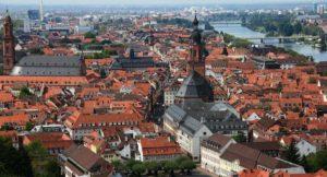 Heidelberg rooftops, Germany