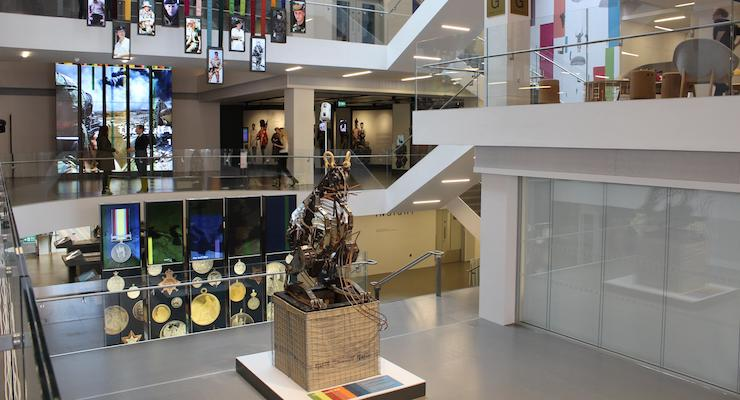 Foyer Museum London : National army museum foyer london copyright gretta